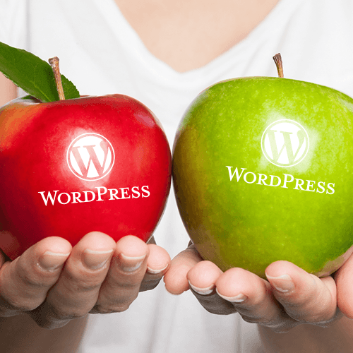 WordPress.org v WordPress.com